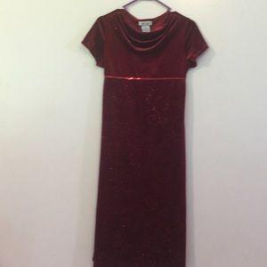 Gorgeous A. BYER Sparkle Dress. Like NEW Sz 14 1/2